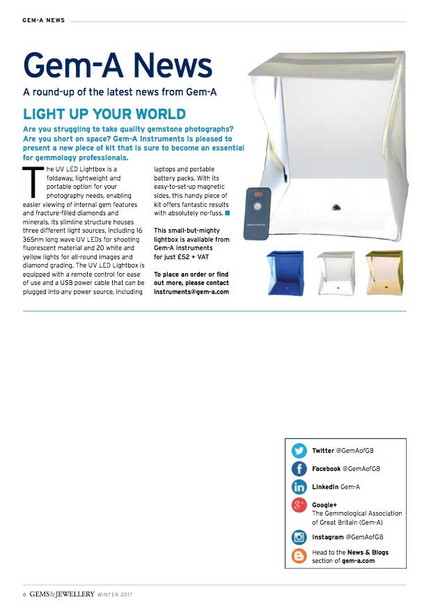 UV LED Lightbox