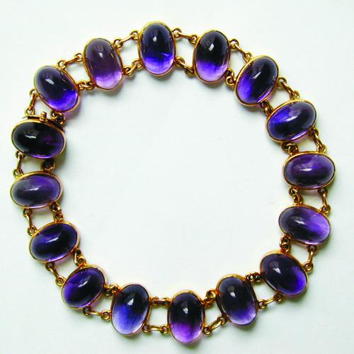 Bentley and Skinner Amethyst Bracelet