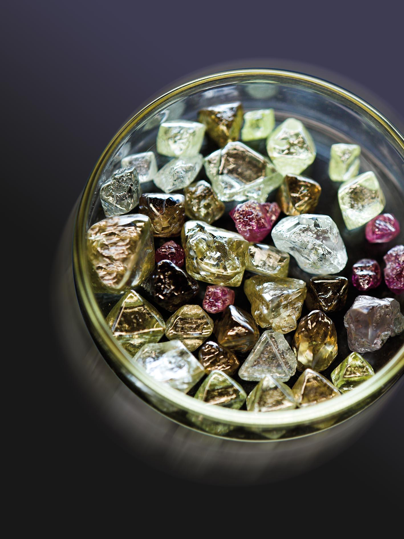 Rio Tinto has lowered its estimate of diamonds it can viably extract from the Argyle mine