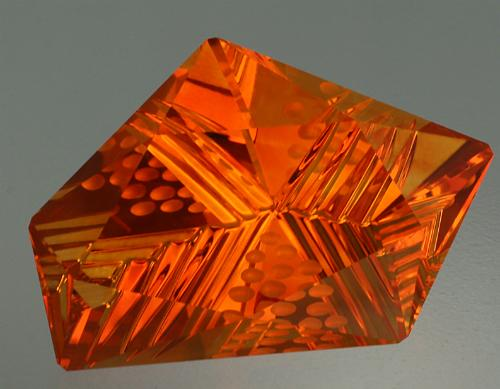 A 28.03 ct Citrine DreamscapeTM. Photo by John Dyer.