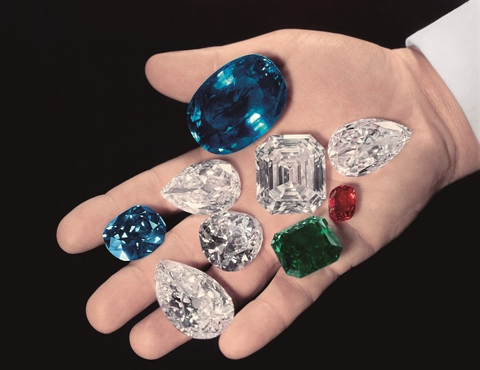 Harry Winston holds famous diamonds and gemstones Image courtesy of Harry Winston