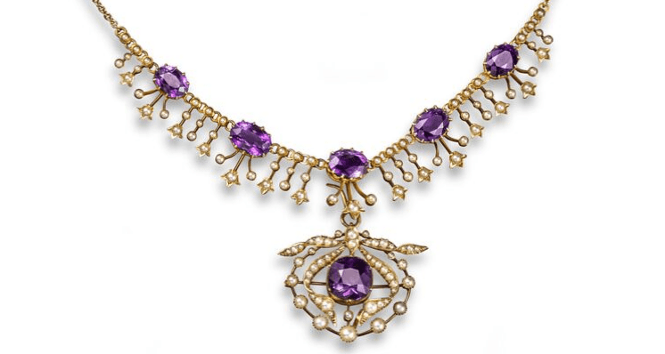 An Exploration of Amethyst in Antique Jewellery