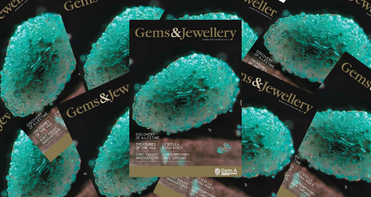 Don't Miss the Summer 2019 Issue of Gems&Jewellery!
