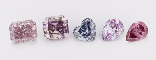 Diamonds shown are between 0.5-1.5 ct. Copyright Aurora Gems Inc. Image courtesy of Robert Weldon.