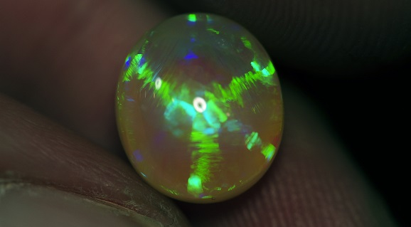 Star Pattern Opal Rare and Unusual Opal Patterns and Colours Gem A Gem Hub Image courtesy of Cody Opal