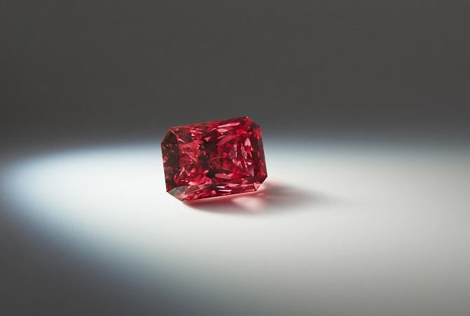 Argyle Isla 1.14 carat radiant shaped Fancy Red Rio Tinto Gem A Blog