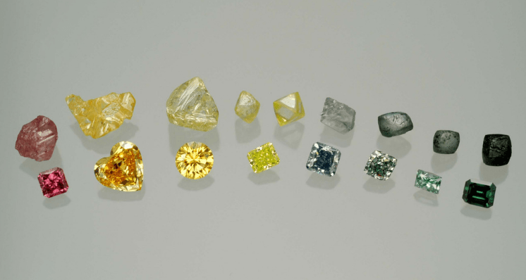 Buying Guide: Coloured Diamonds from Least to Most Valuable