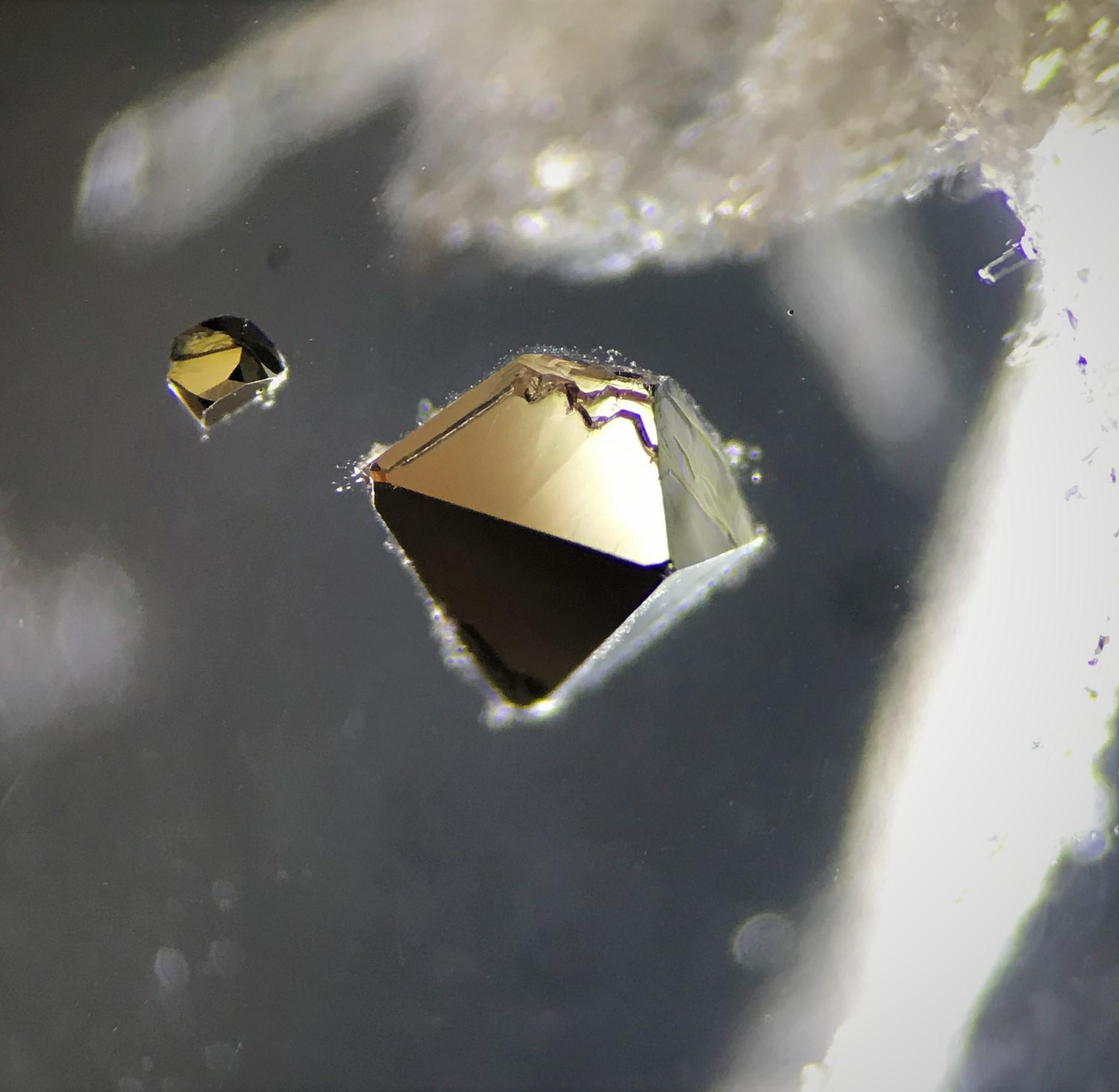 pyrite octahedron quartz inclusions Gem A Blog Types of Quartz Inclusions