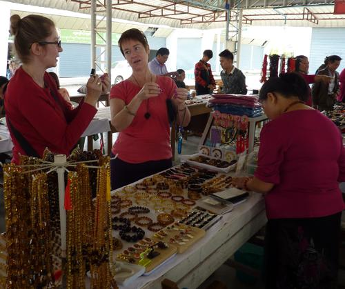 Amber market in Myitkyina. Image courtesy of T. and M. Medniuk. Myanmar Blog Post