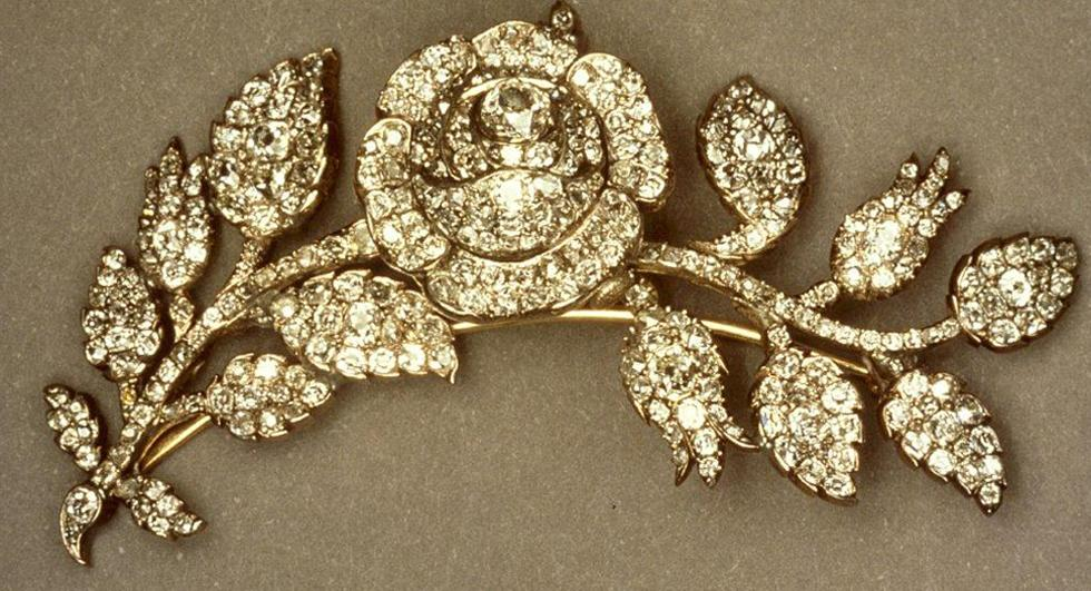 Rose Brooch. Image courtesy of John Benjamin
