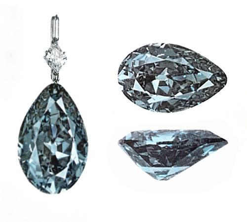 The Tereschenko or Mouawad Blue Diamond