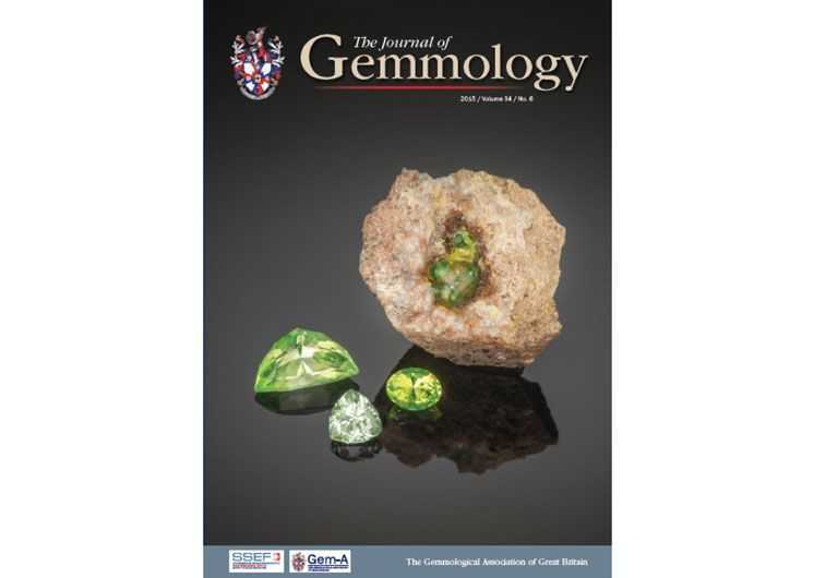 Gem-A releases the latest Journal of Gemmology (Vol 34, Issue 6)