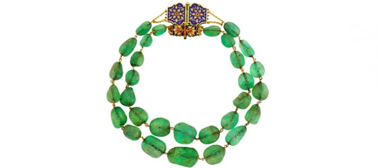 What is the Indian Style in Art Deco Jewellery?
