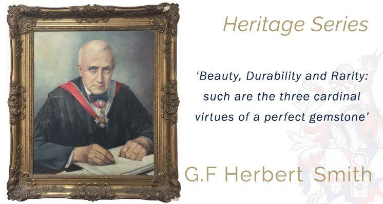 Dr Herbert Smith - Innovator, Inventor, Gem-A President