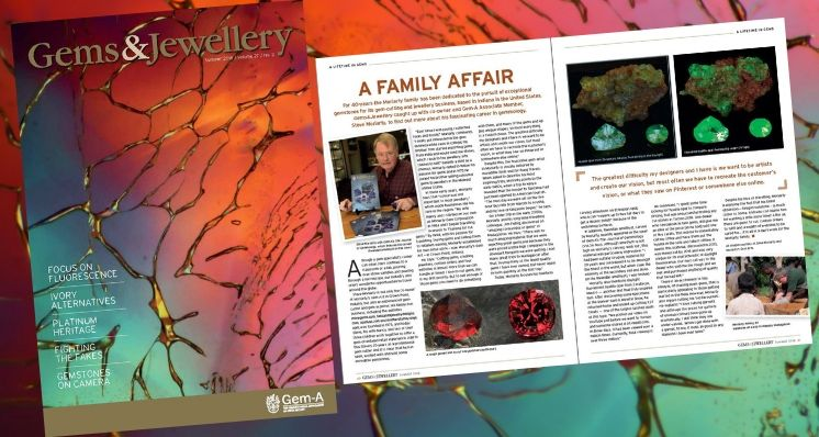 Interview: Steve Moriarty on a Lifetime in Gems