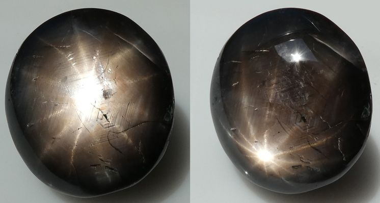 Exploring Inclusions in a Twelve Point Black Star Sapphire
