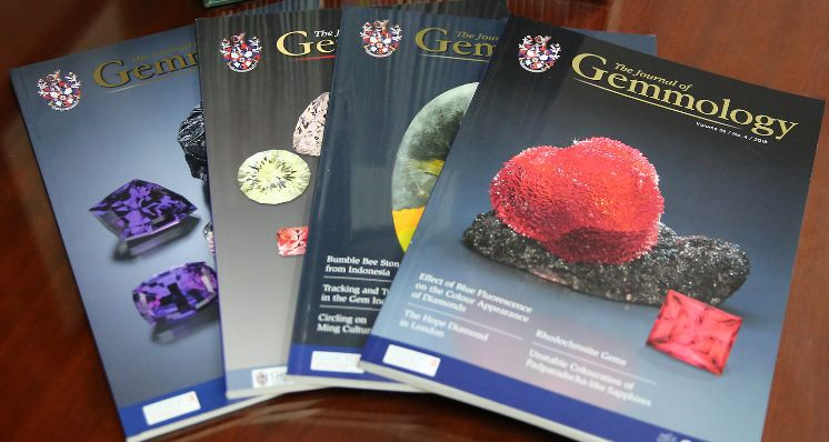 Gem-A's The Journal of Gemmology accepted into SCIE Database